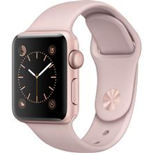 Apple Watch 2 38mm Rose Gold Aluminum Case with Pink Sand Sport Band